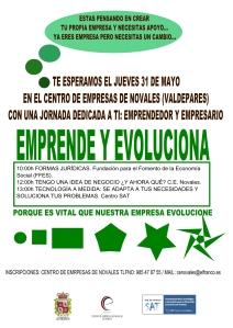 """Jornada """"Emprende y Evoluciona"""" en CE Novales"""