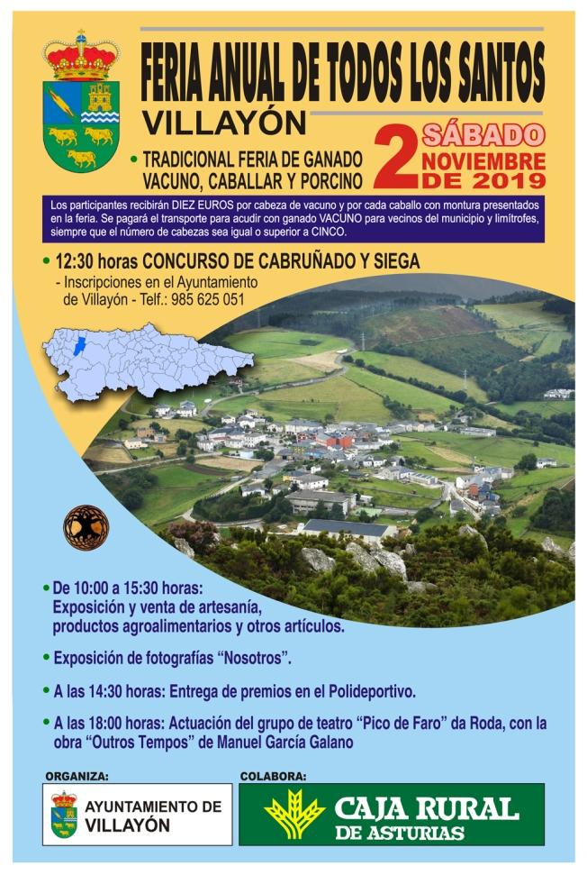 Cartel Fiesta Todos los Santos 2019 C11.cdr